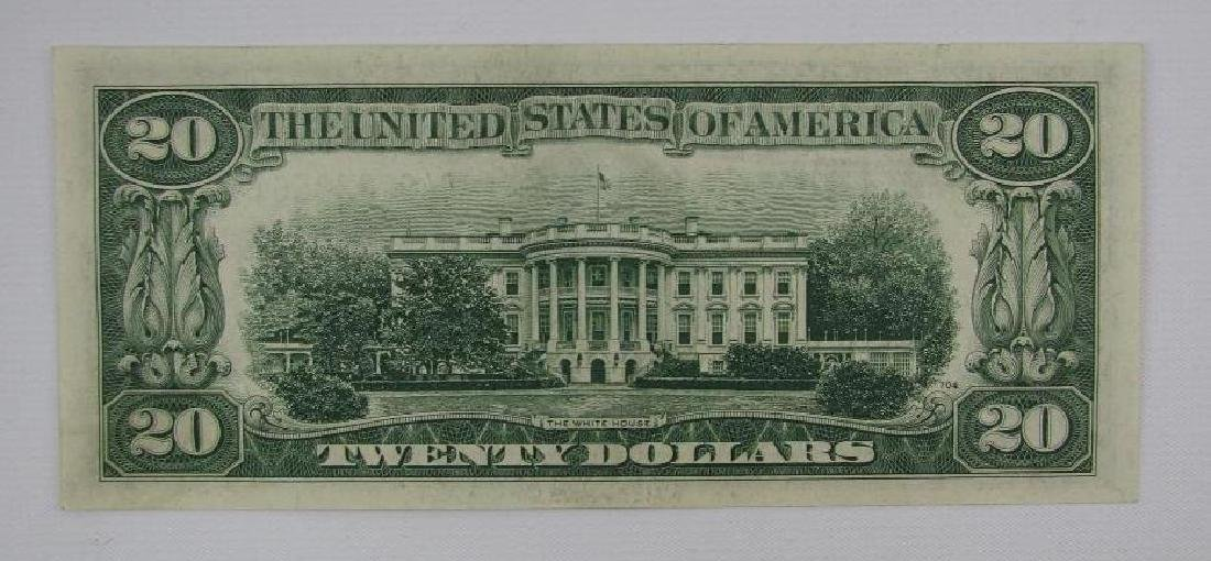 Series of 1934D $20 Federal Reserve Note - Green Seal - 2