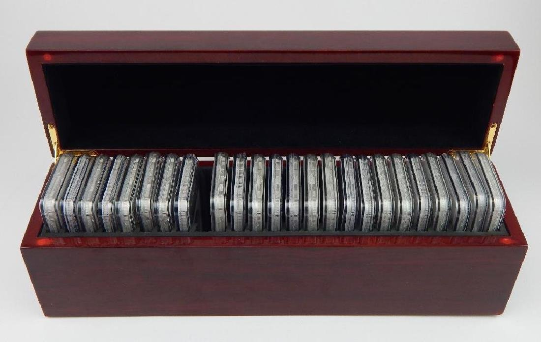 Lot of 24 : American Silver Eagles 1986-2010 - 6