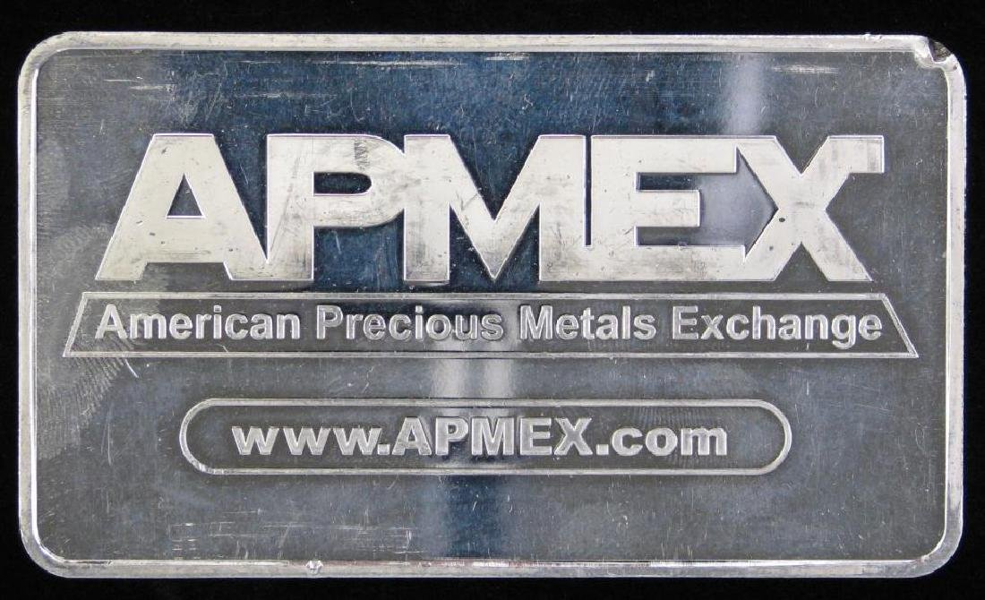 10 Troy Ounce APMEX .999 Silver Bar