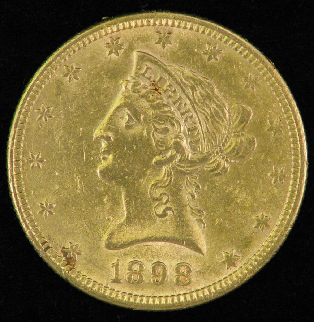 1892 Liberty Head $10 Gold Piece