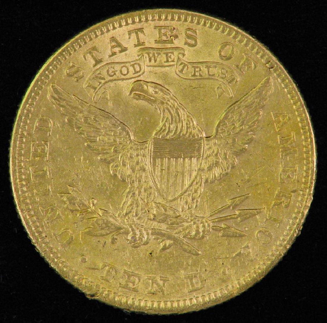 1892 Liberty Head $10 Gold Piece - 2