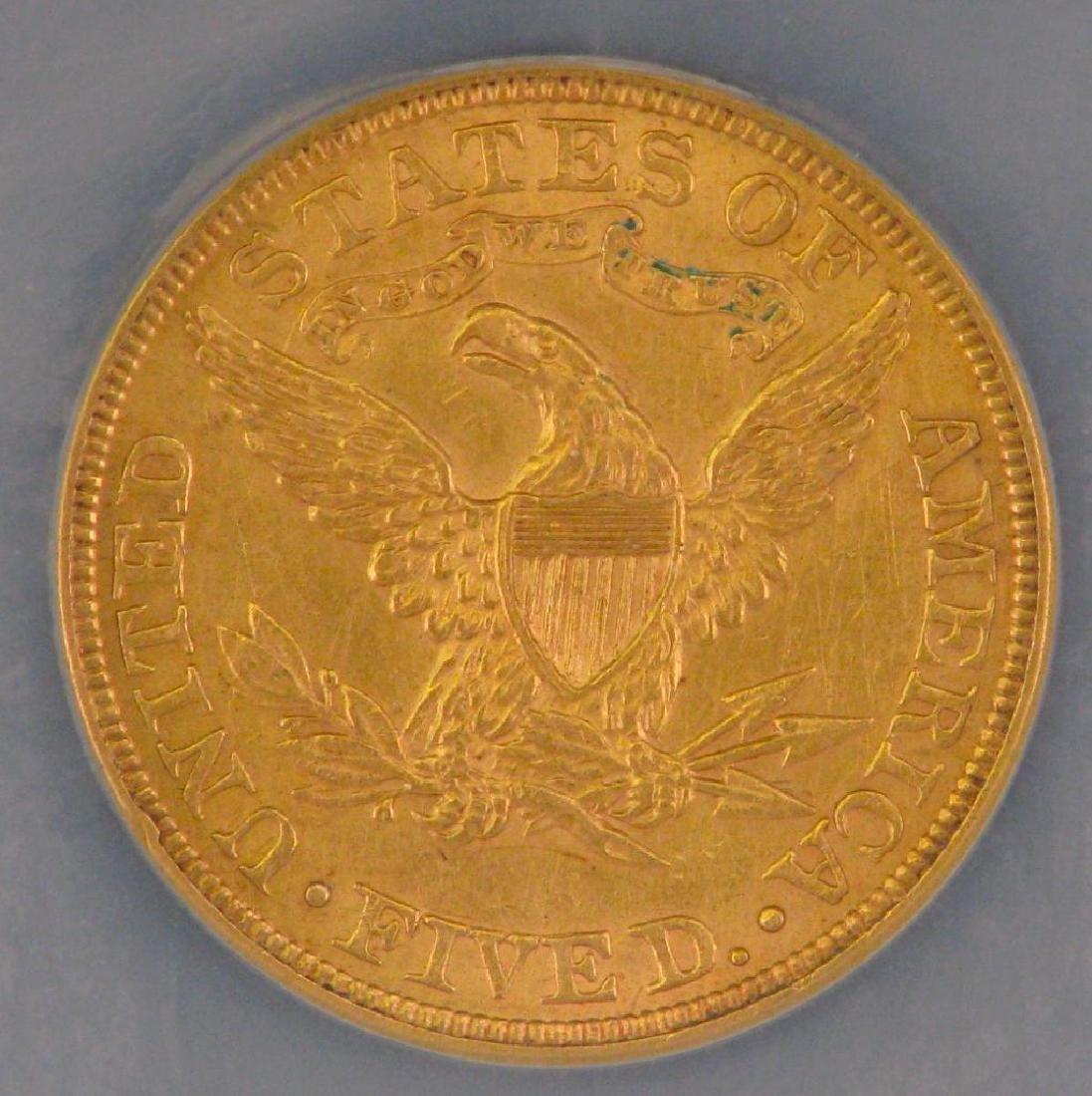 1900 Liberty Head $5 Gold Piece - 4