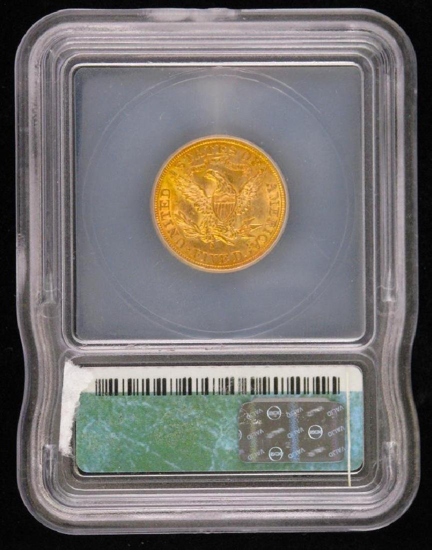 1901 Liberty Head $5 Gold Piece - 2