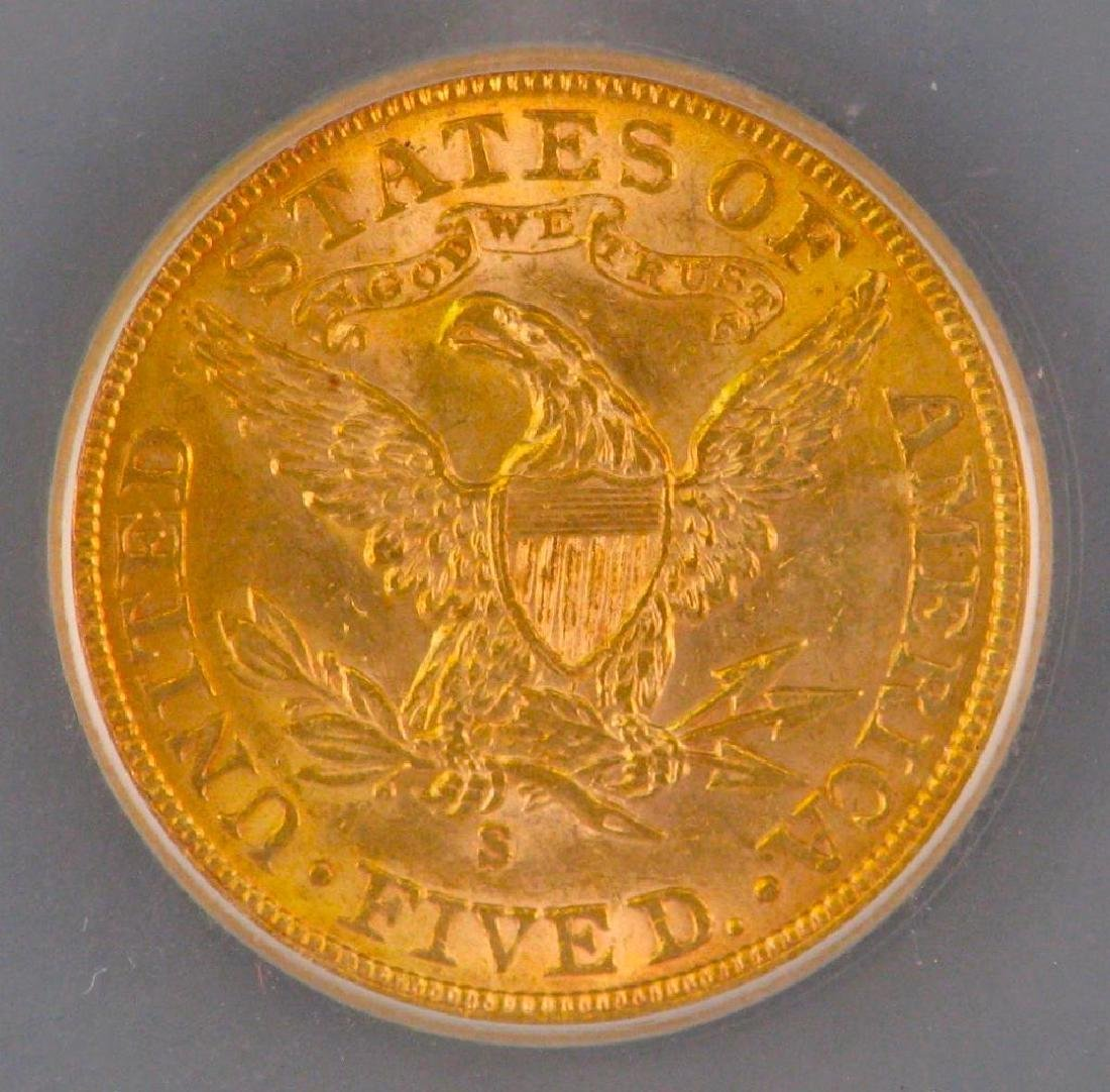 1901 Liberty Head $5 Gold Piece - 4
