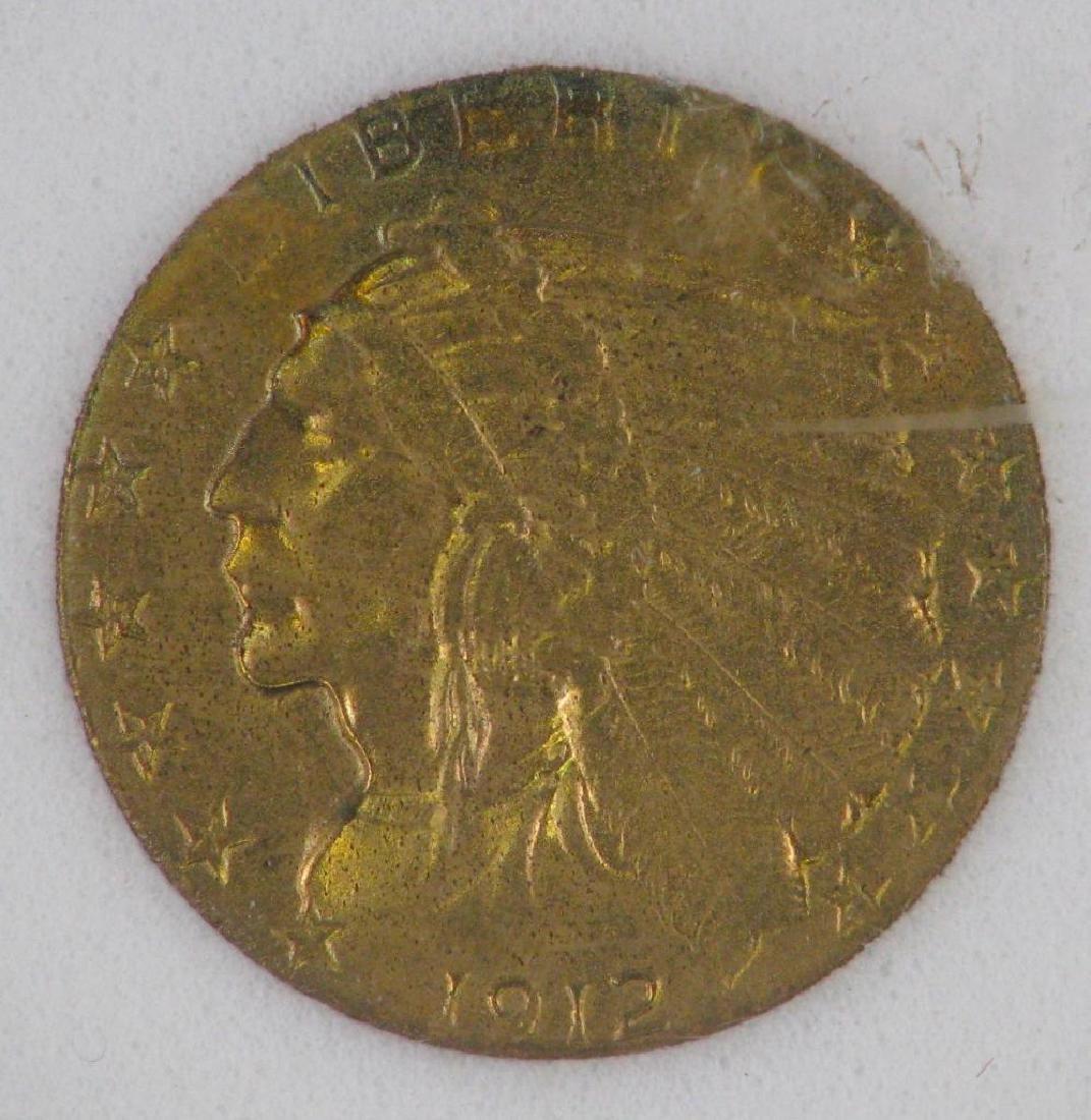 1912 Indian Head Half Eagle - 3