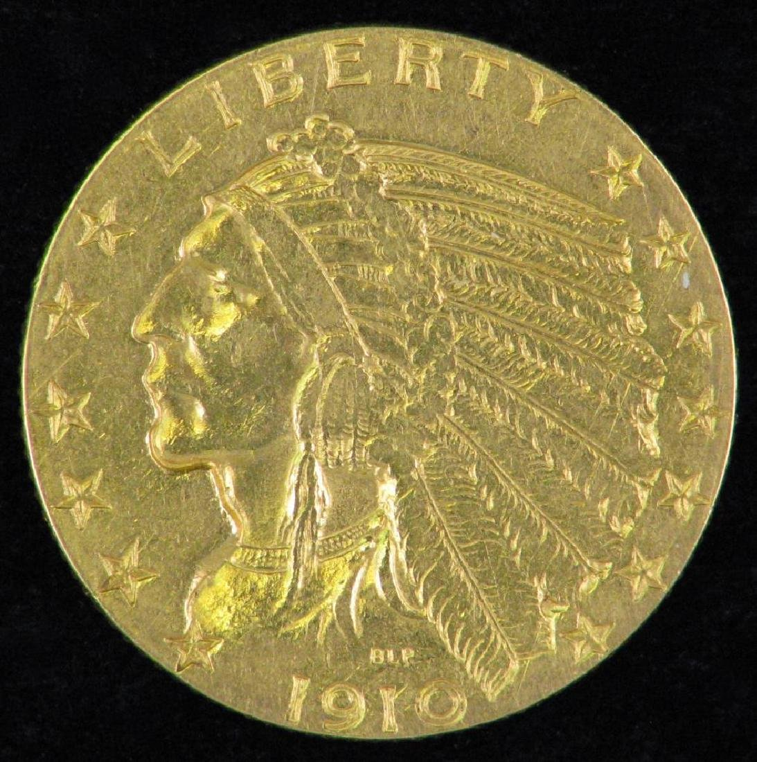 1910-P Indian Head Half EagleÊ