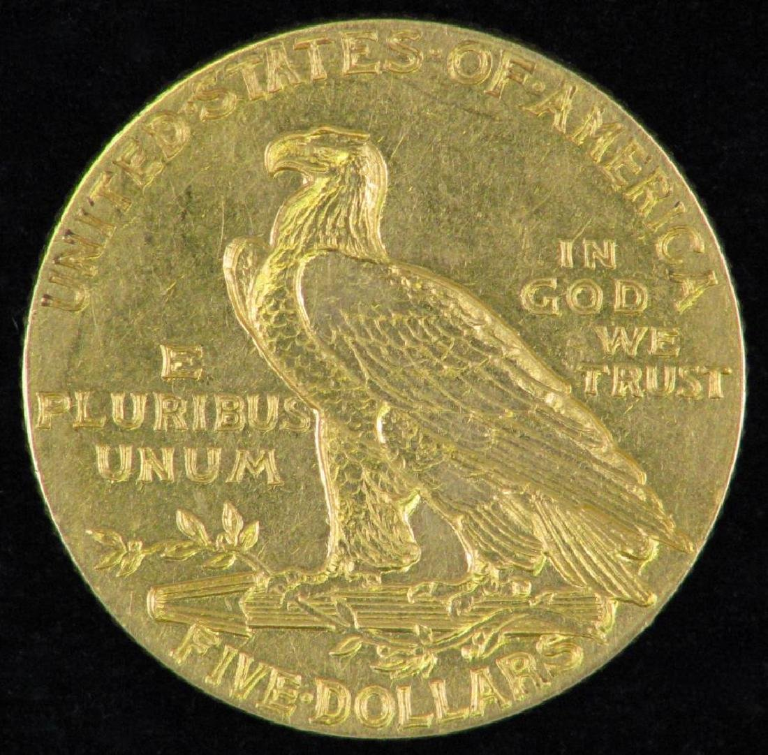 1910-P Indian Head Half EagleÊ - 2