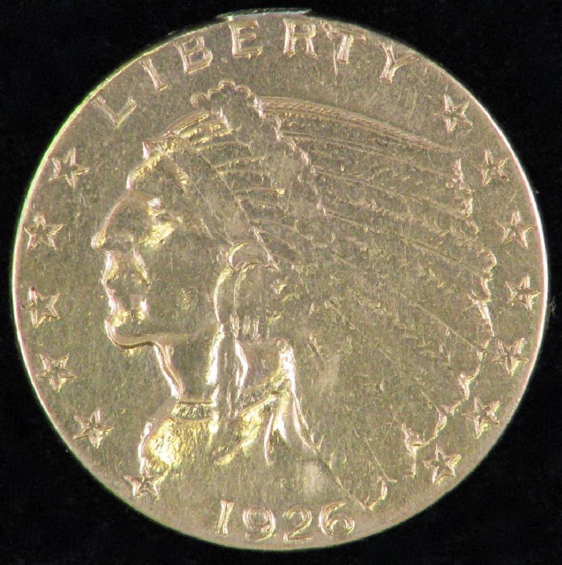 1926-P Indian Head Quarter Eagle