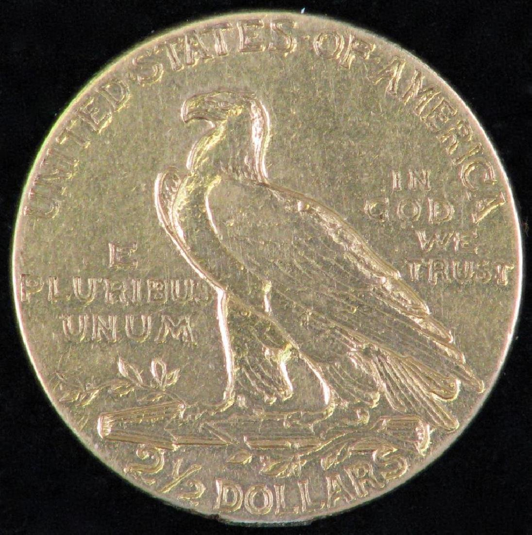 1926-P Indian Head Quarter Eagle - 2