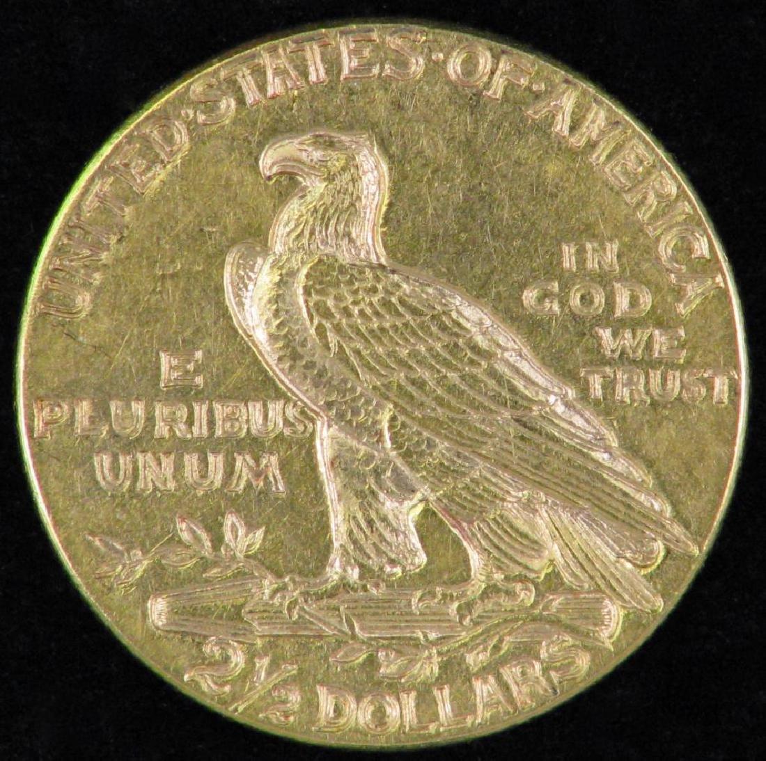 1915-P Indian Head Quarter Eagle - 2