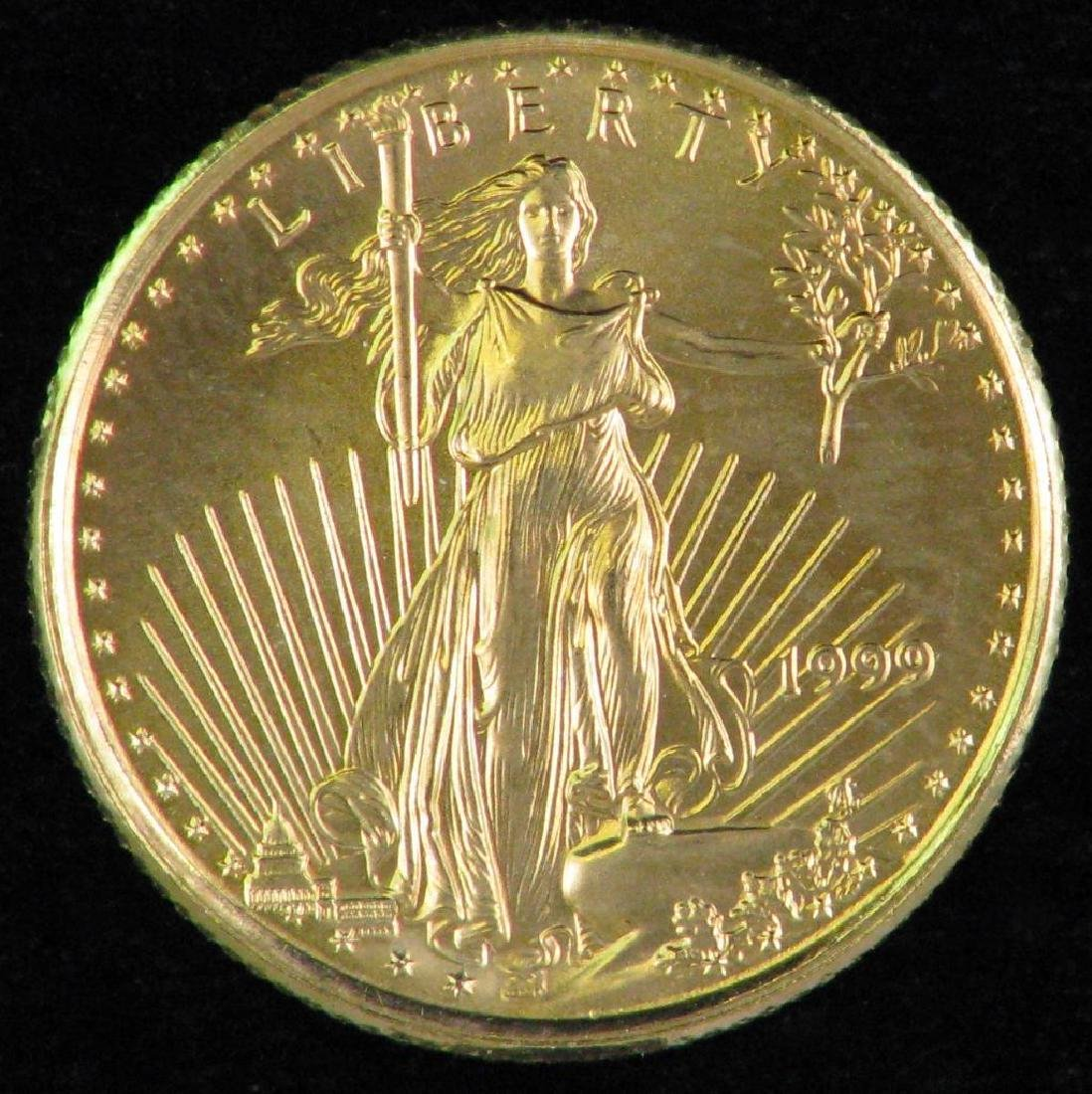 1999 American Eagle $5 Gold Piece