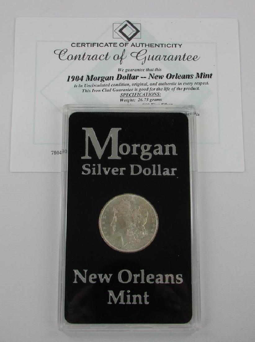 1904-O Morgan Dollar - 3