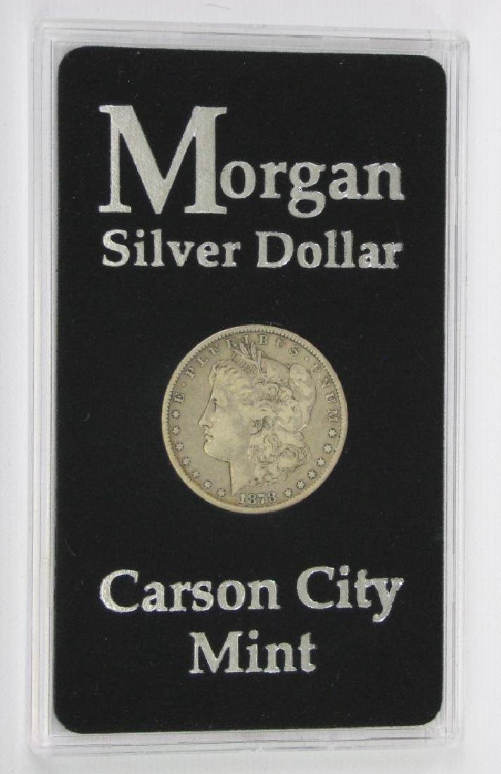 1878-CC Morgan Dollar - 3