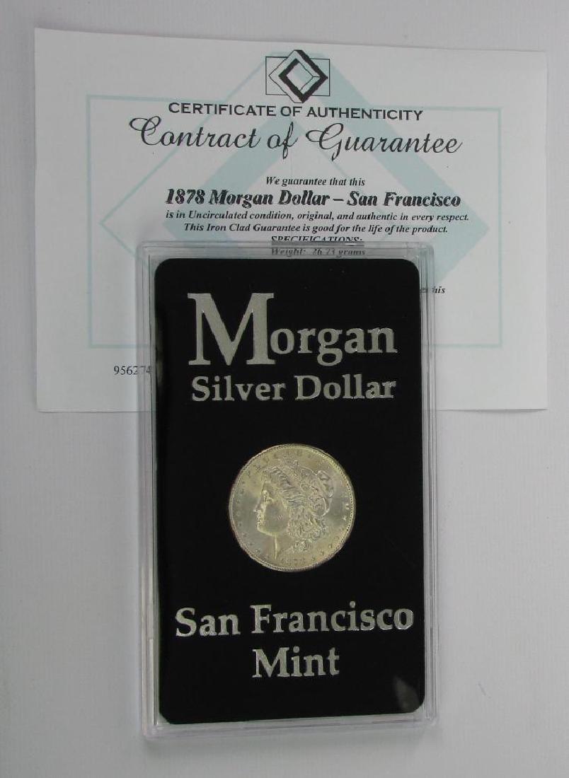 1878-S Morgan Dollar - 3