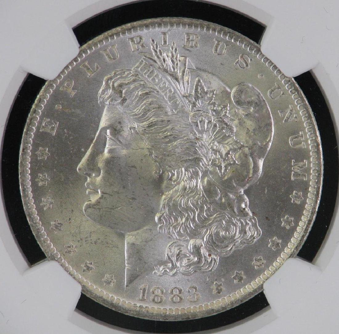 1883-O Morgan Dollar NGC MS64 - 3