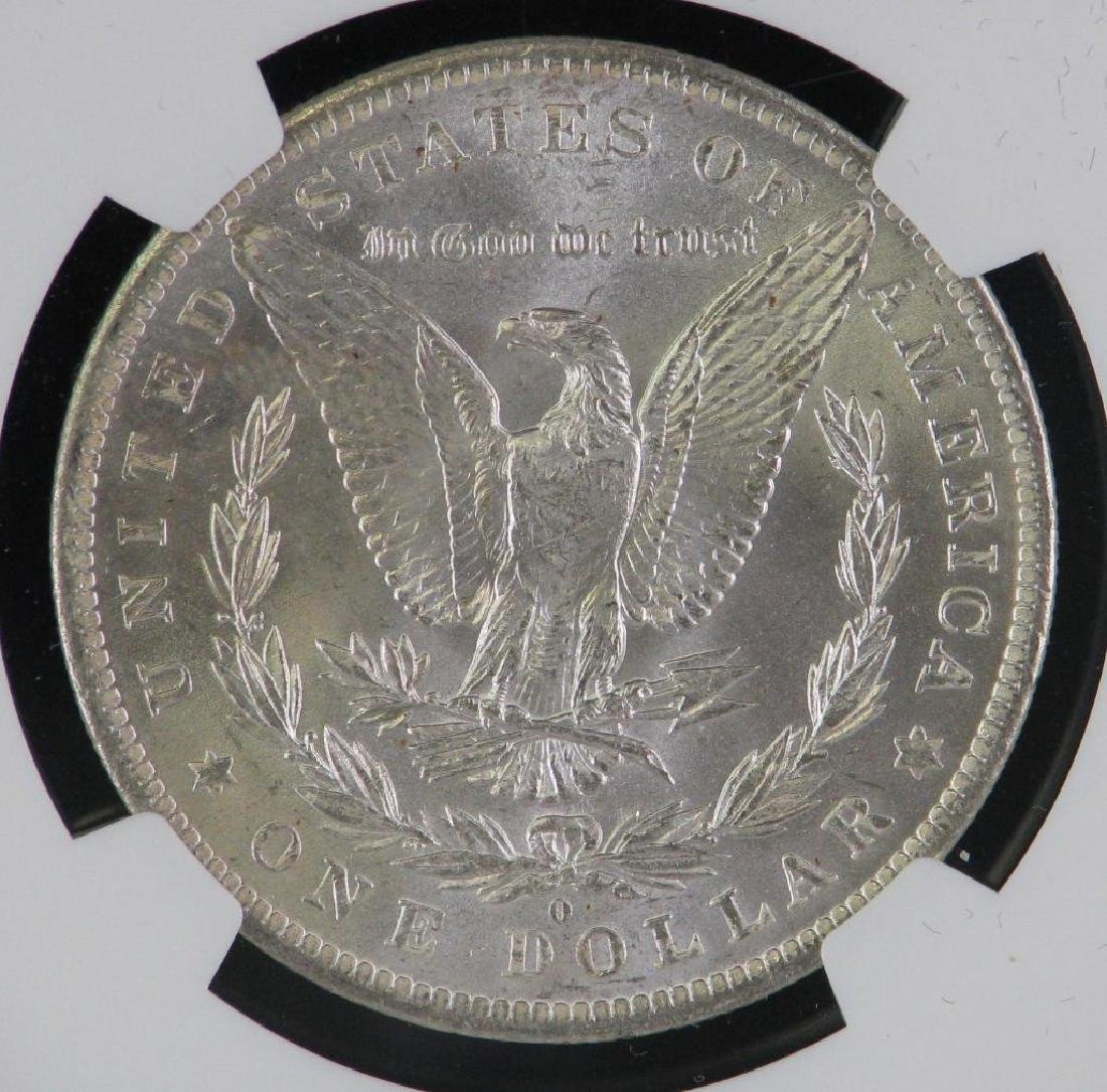 1883-O Morgan Dollar NGC MS64 - 4