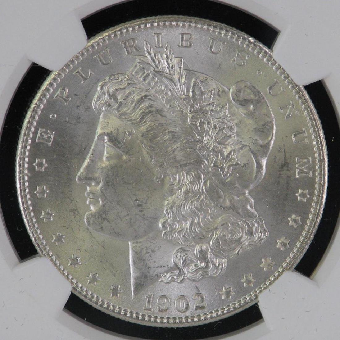 1902-O Morgan Dollar NGC MS63 - 3