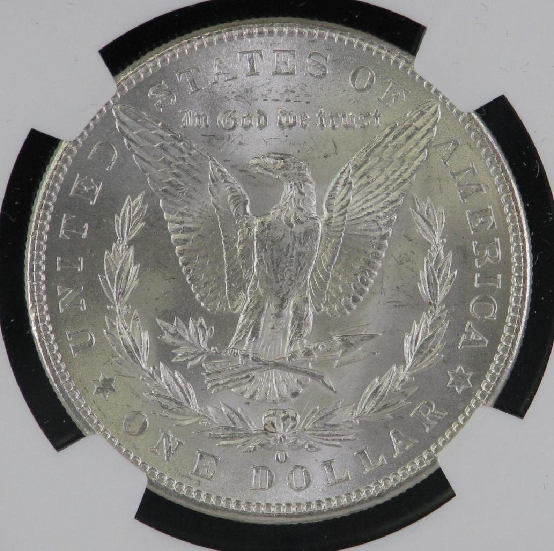 1902-O Morgan Dollar NGC MS63 - 4