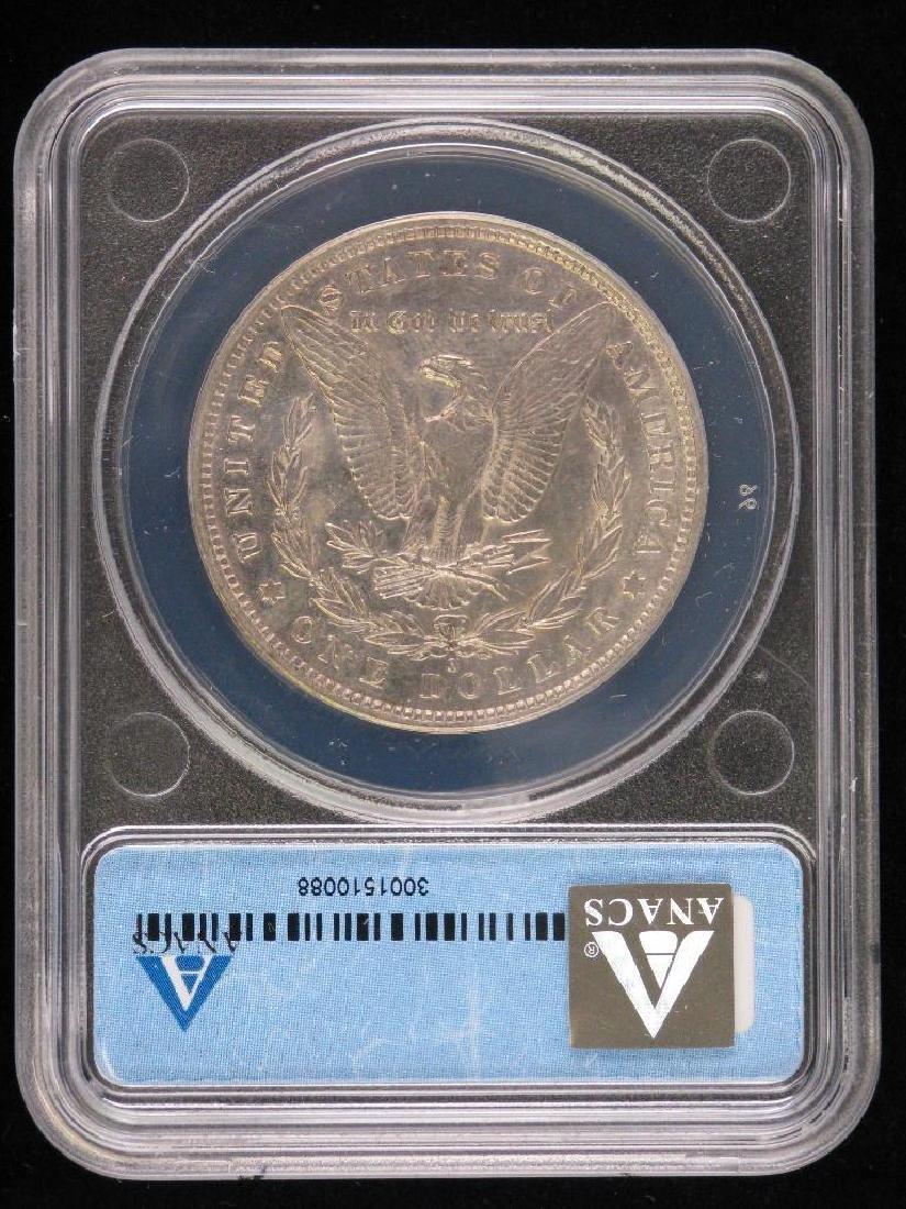 1882-O over S Morgan Dollar - 2