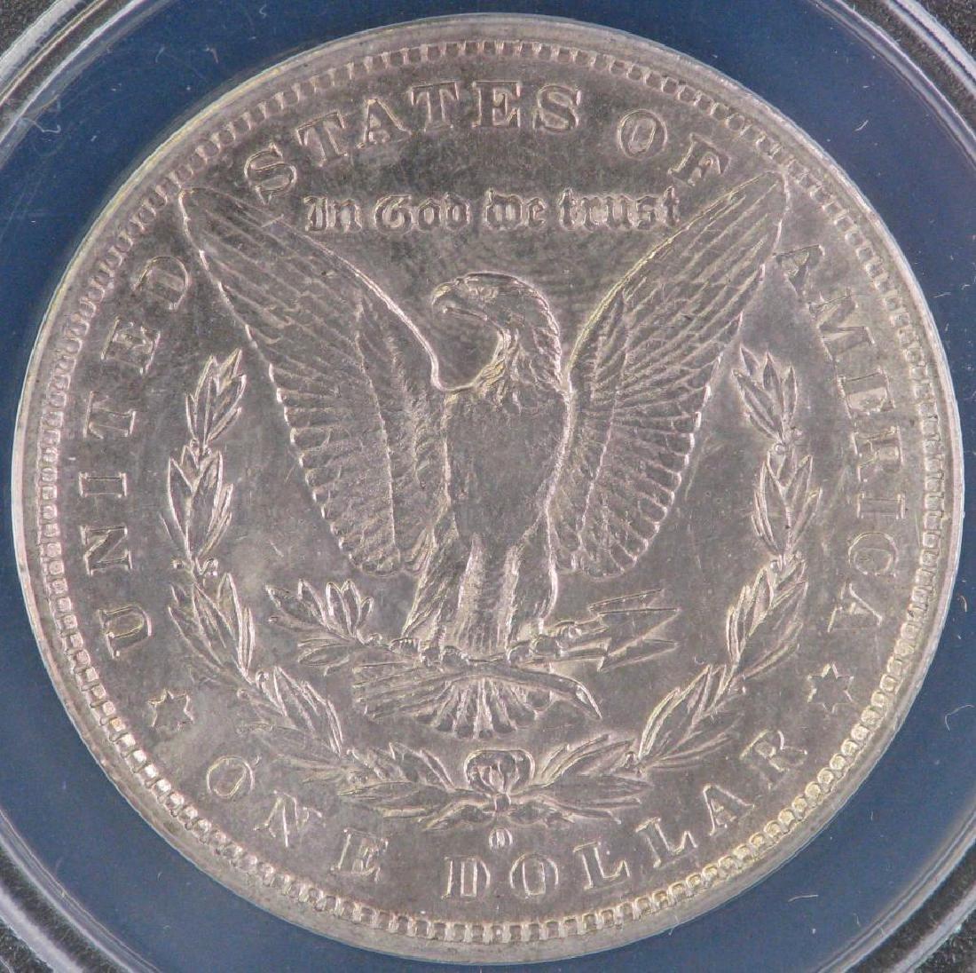 1882-O over S Morgan Dollar - 4