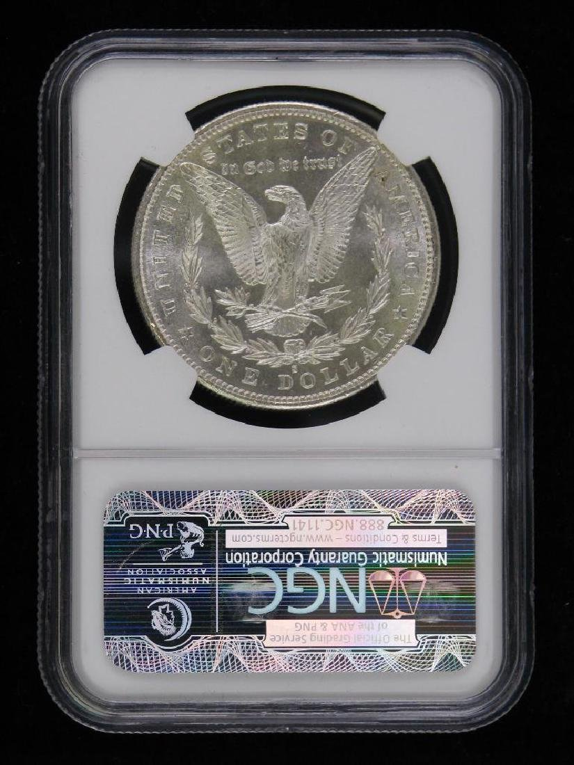 1880-S Morgan Dollar NGC MS64 - 2