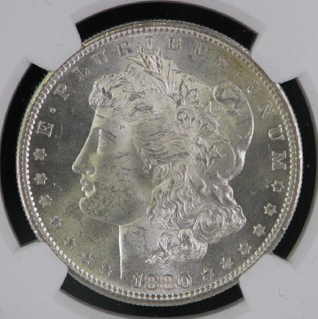 1880-S Morgan Dollar NGC MS64 - 3