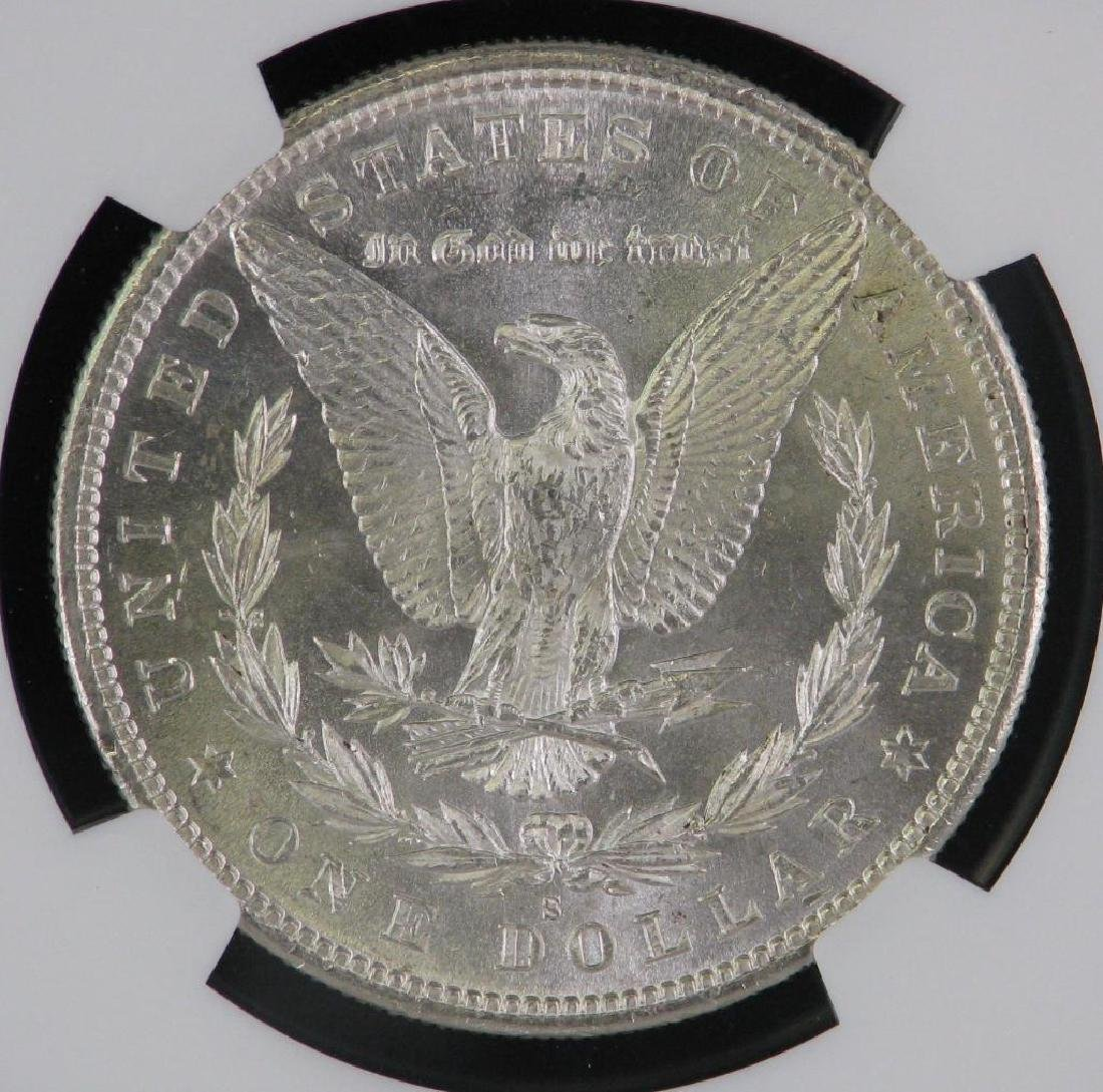 1880-S Morgan Dollar NGC MS64 - 4