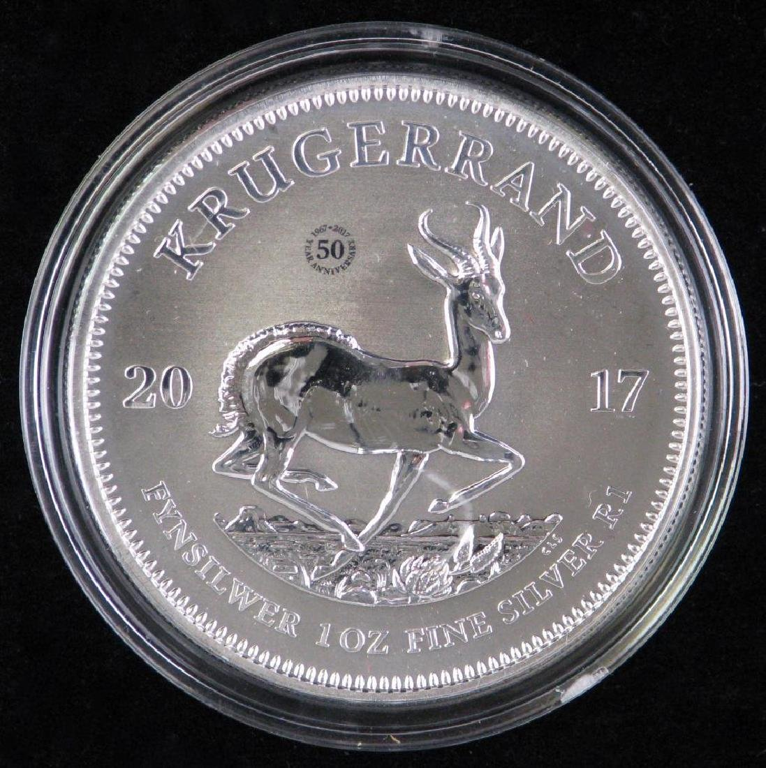 2017 Silver Krugerrand - Premium Uncirculated - 2