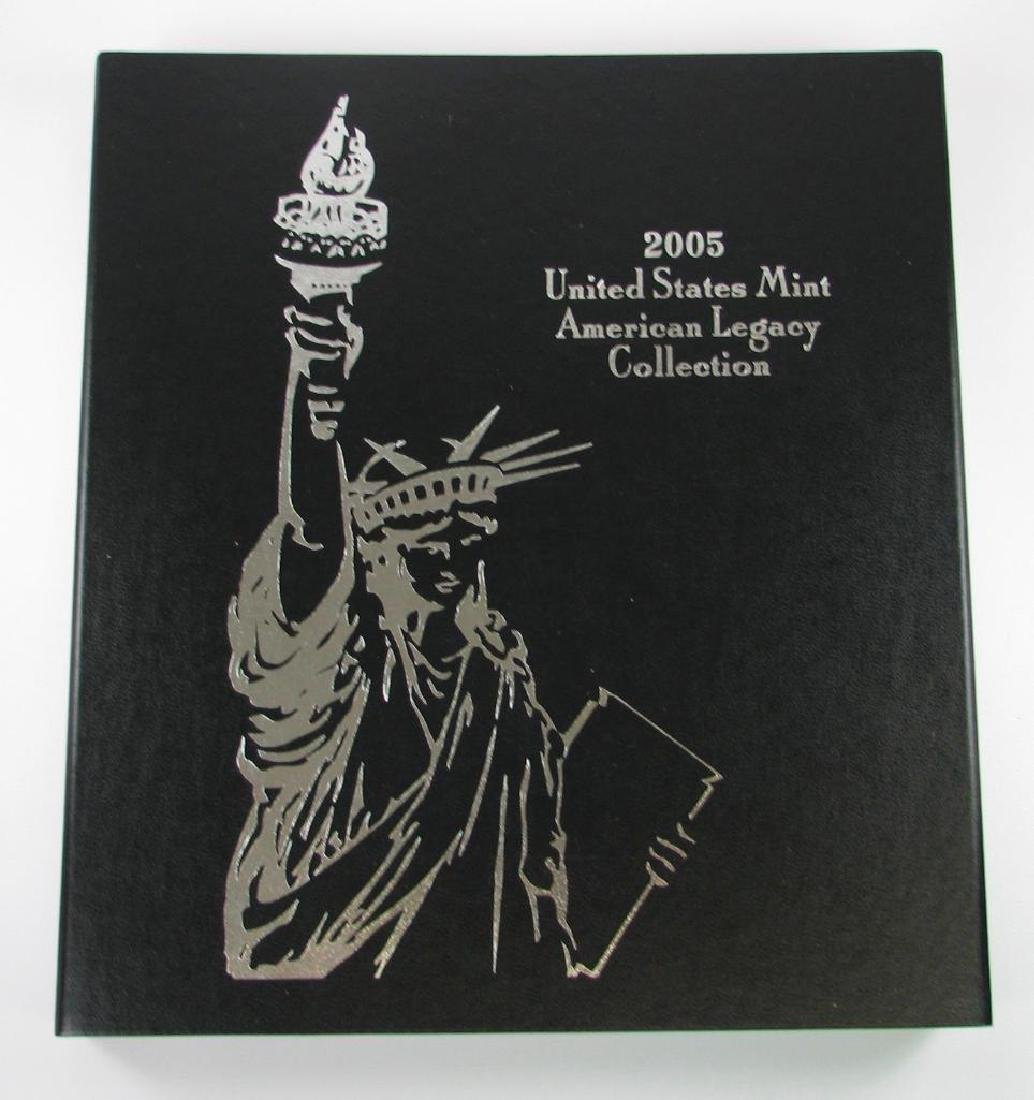 2005 United States Mint American Legacy Collection w/ 2