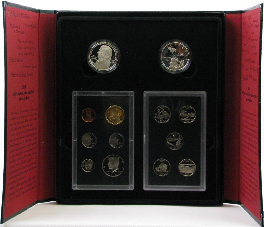 2005 United States Mint American Legacy Collection w/ 2 - 2