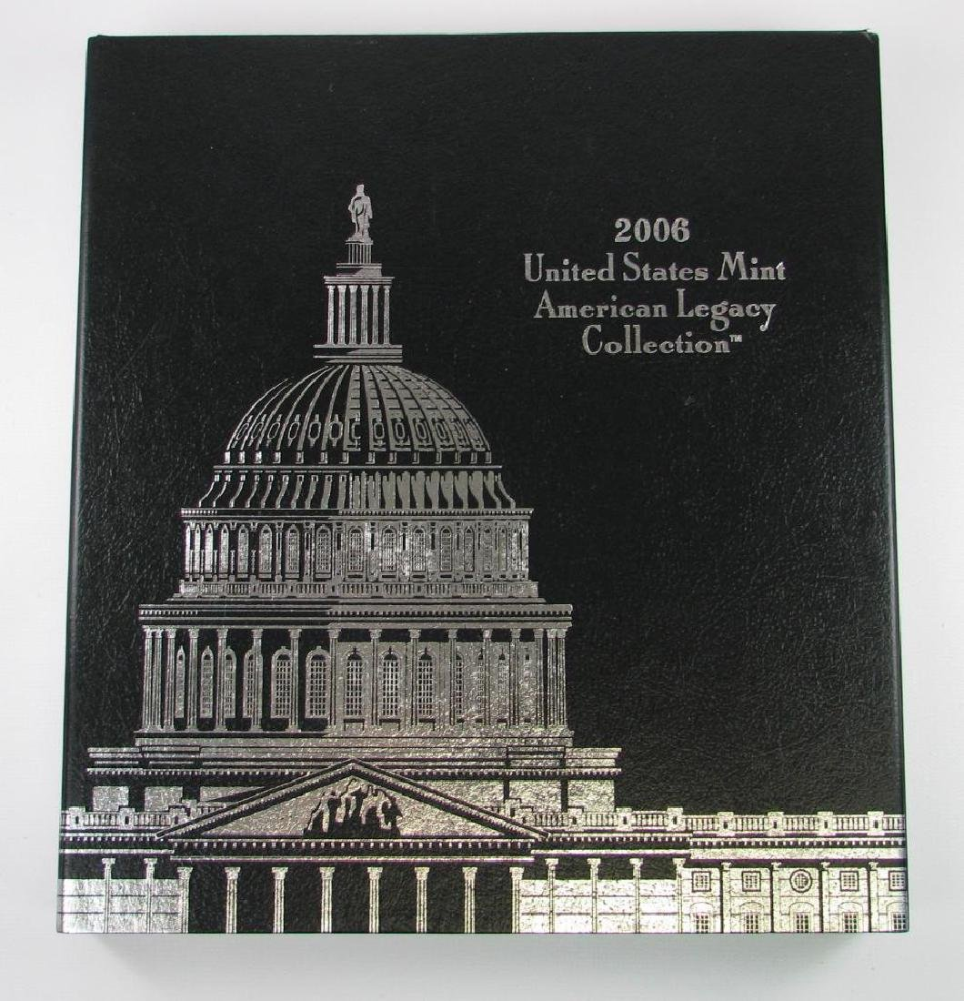 2006 United States Mint American Legacy Collection w/ 2