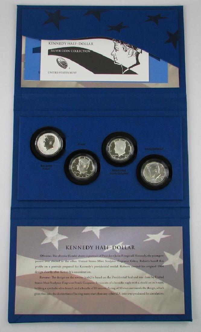 50th Anniversary Kennedy Half Dollar Silver Coin - 2