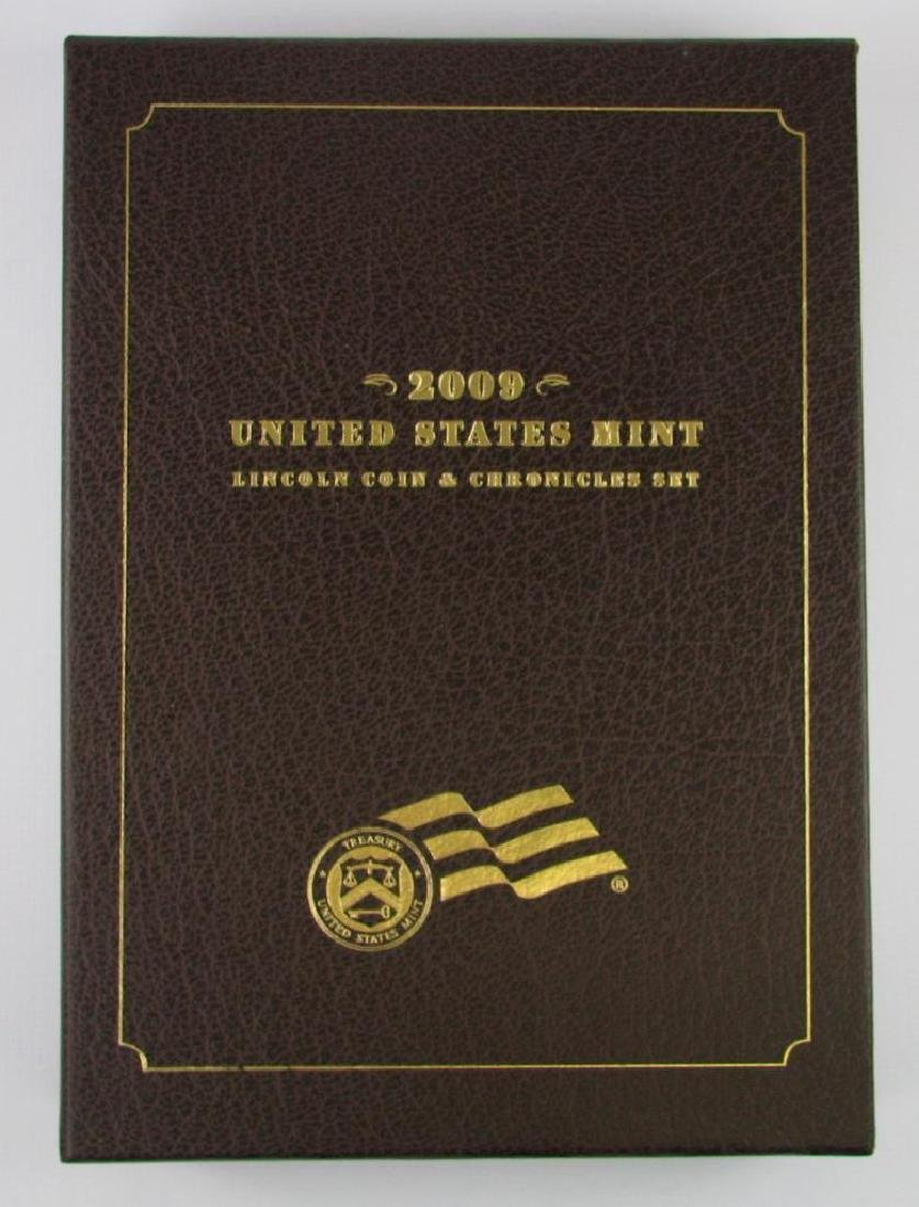 United States Mint Lincoln Coin and Chronicles Set