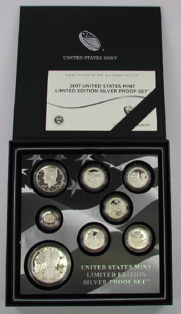2017 United States Limited Edition Silver Proof Set