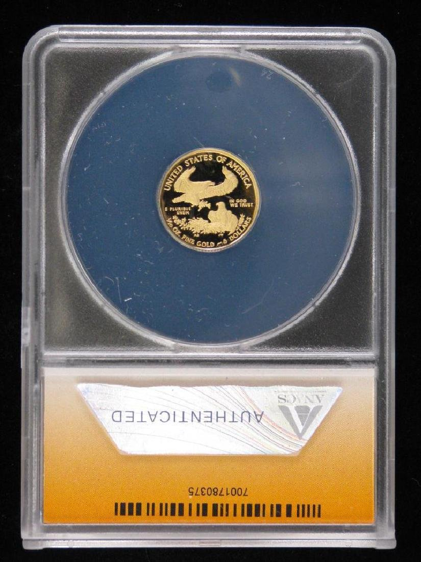 "2010-W $5 Gold Eagle : ""First Day of Issue"" - 2"
