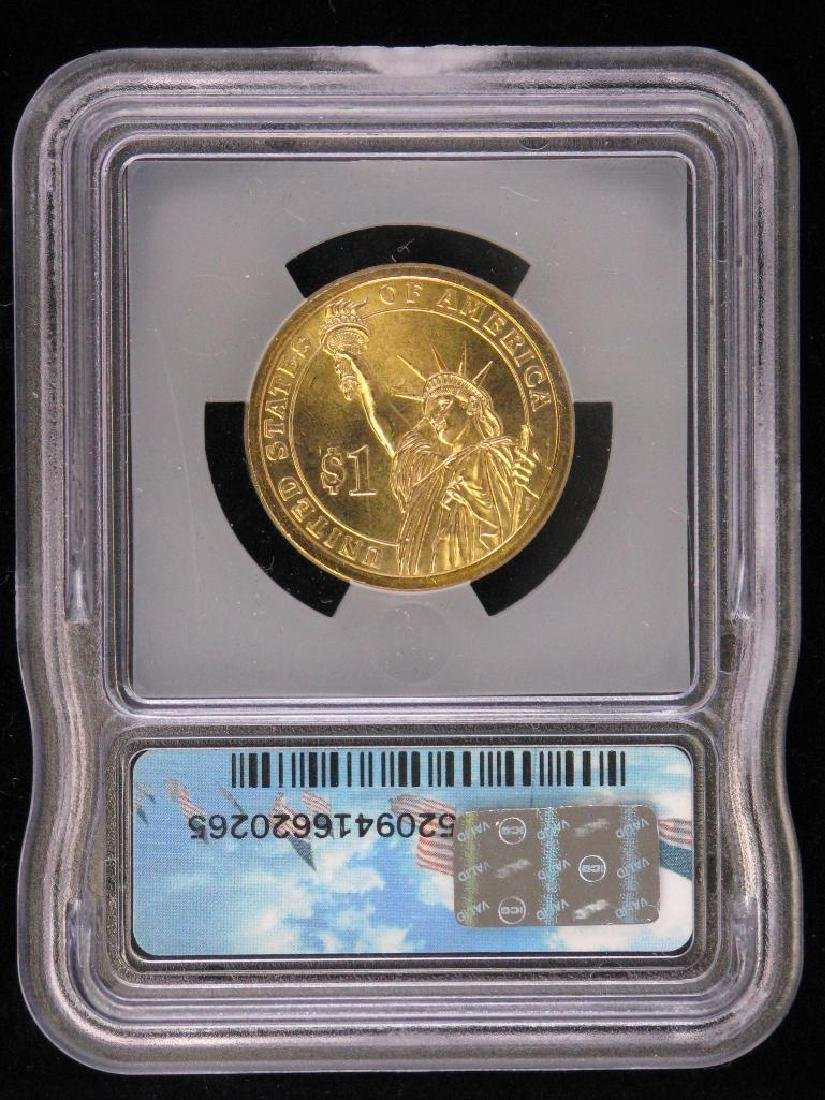 2007-P Presidential Dollar : John Adams - Mint Error - 2