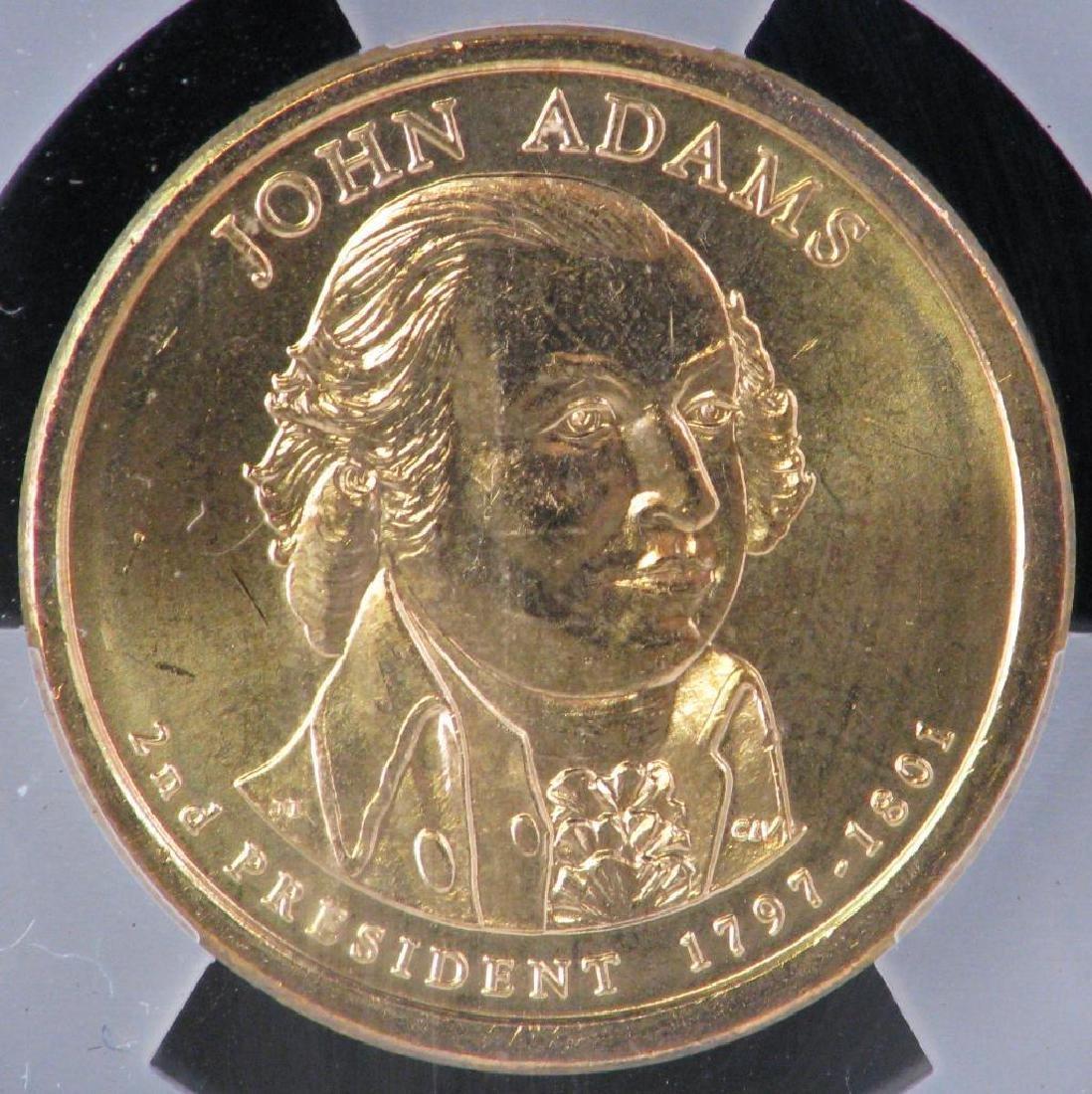 2007-P Presidential Dollar : John Adams - Mint Error - 3