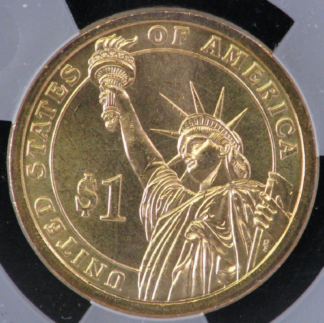 2007-P Presidential Dollar : John Adams - Mint Error - 4