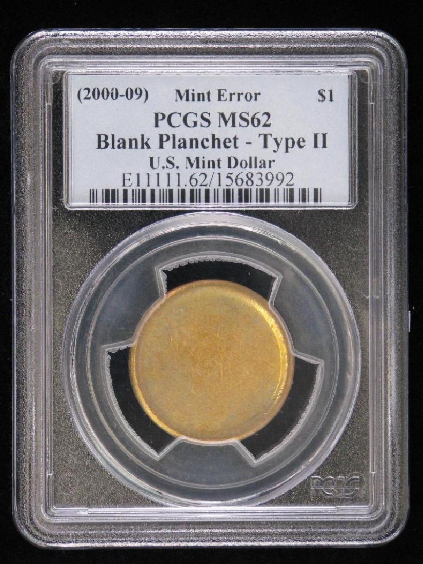 2000-2009 U.S. Mint Dollar Blank Planchet - Type II