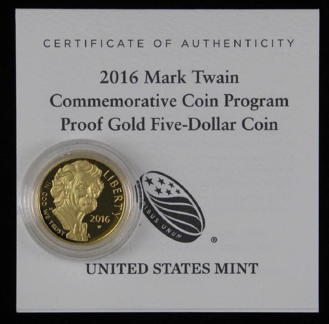 2015-W $5ÊGold Uncirculated Commemorative Coin - 4