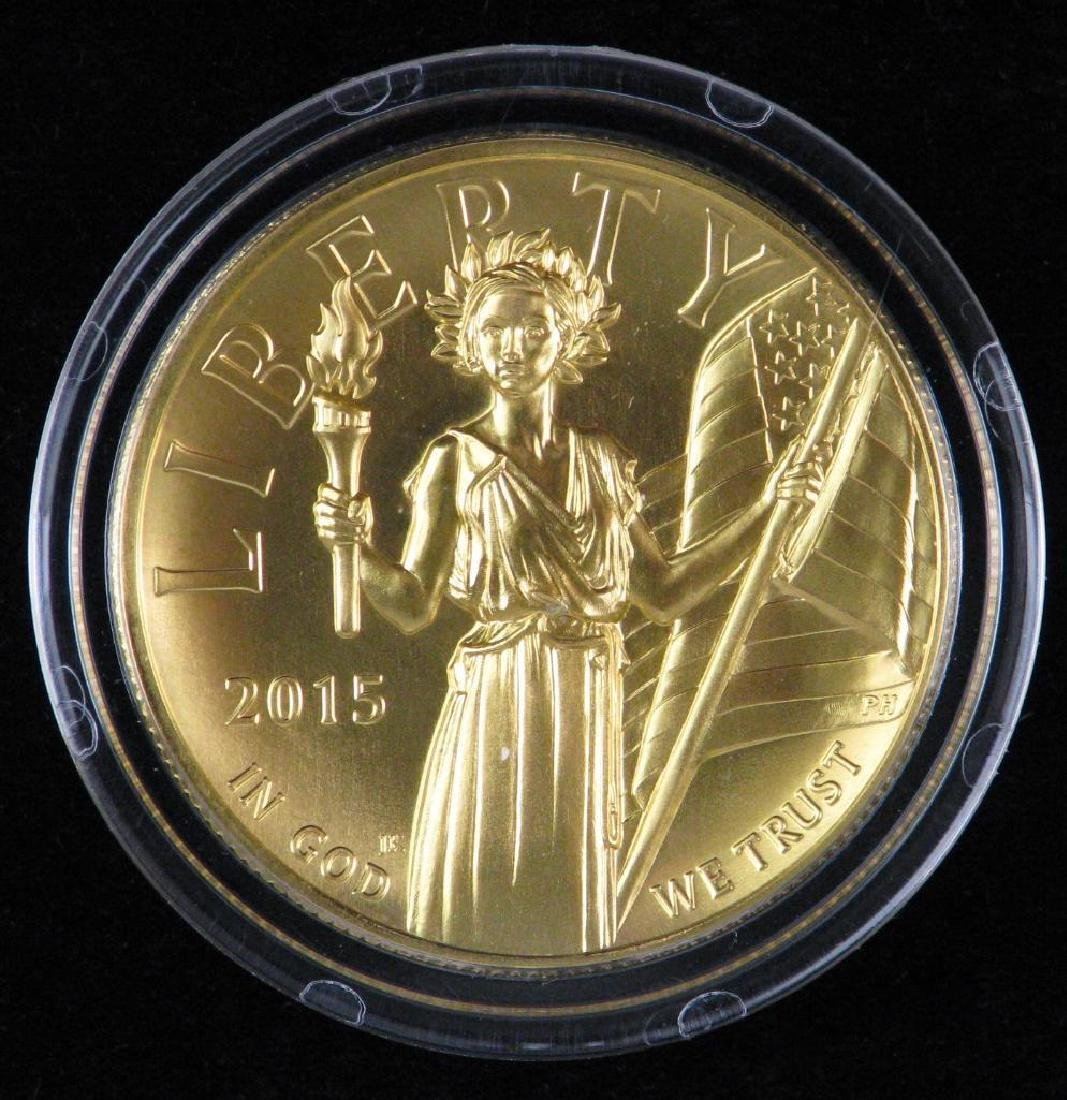 "2015-W $100 ""American Liberty"" High Relief Gold Coin"