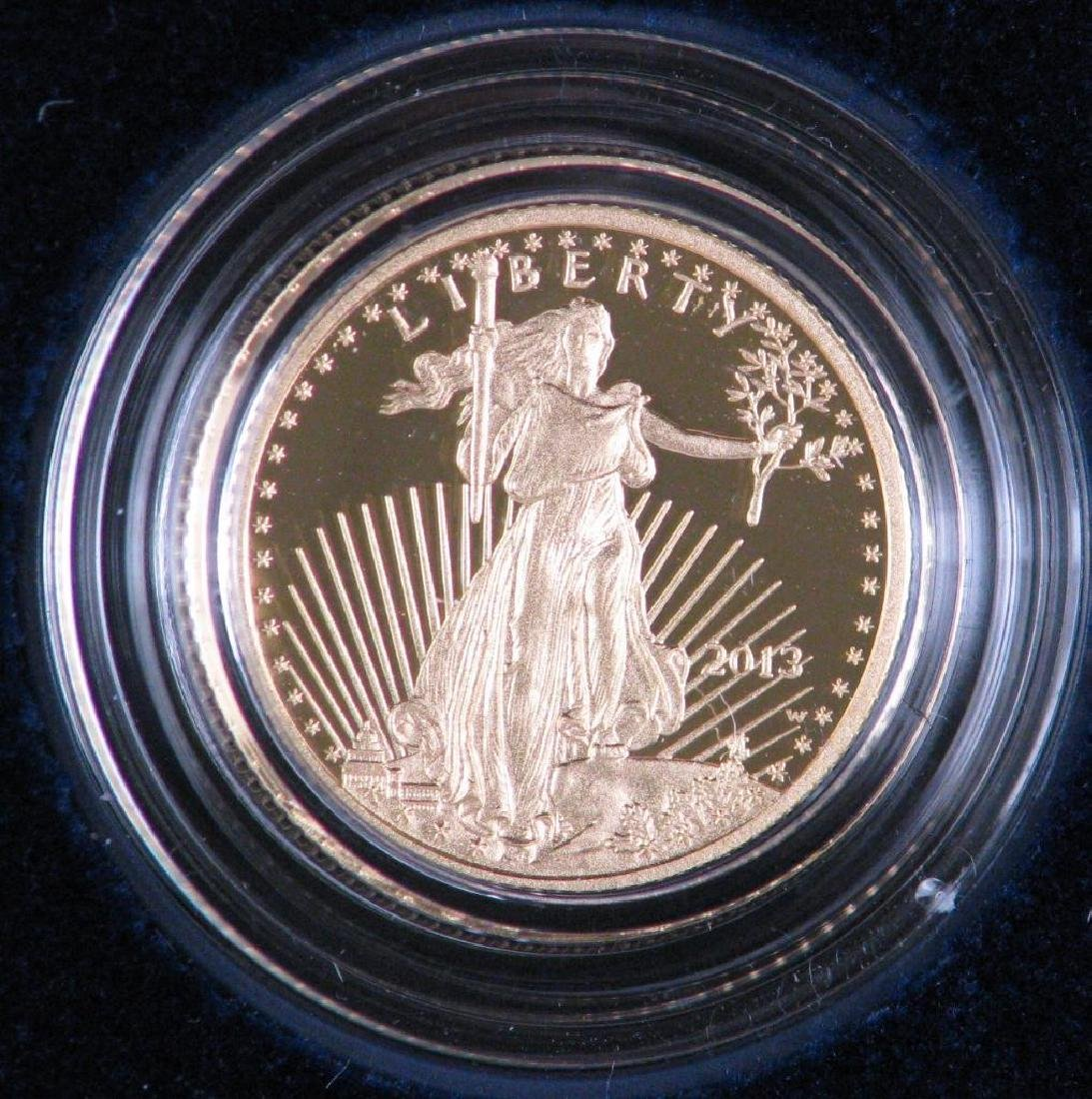 2013-W $5 Gold Eagle : Gold Proof Coin
