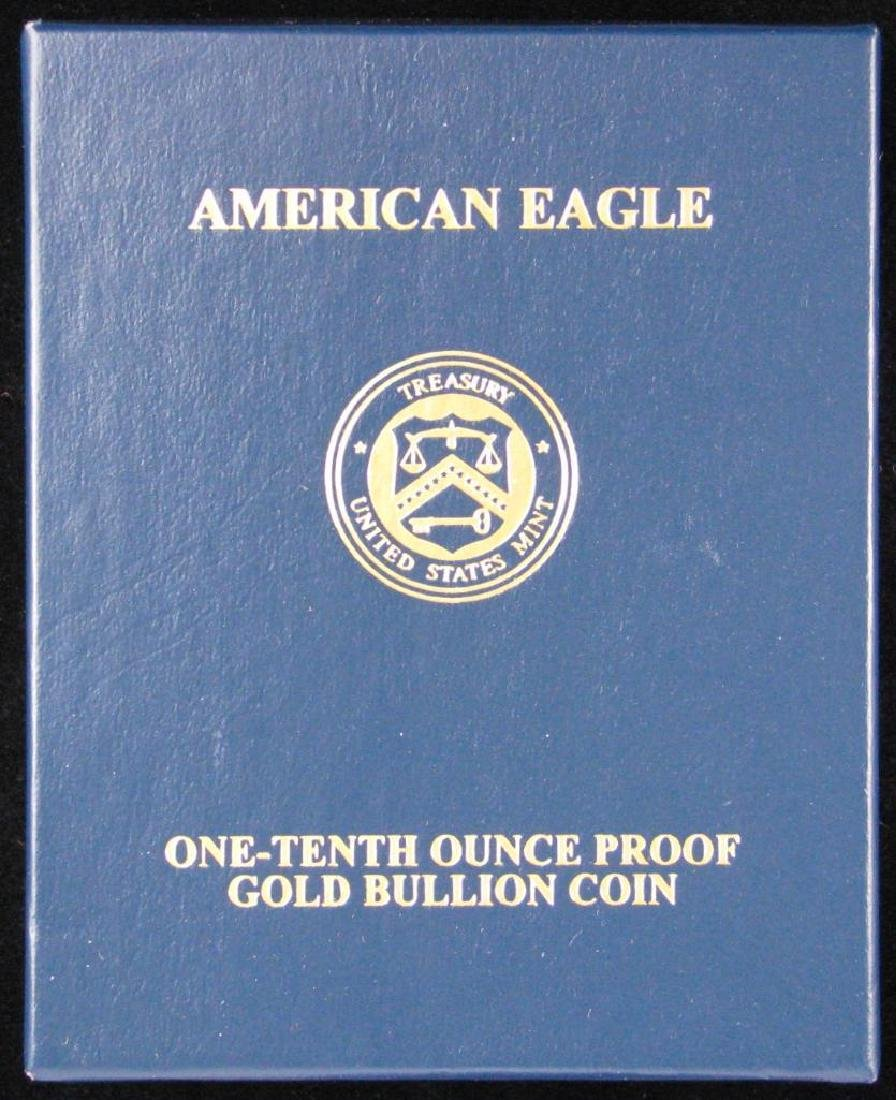 2013-W $5 Gold Eagle : Gold Proof Coin - 4