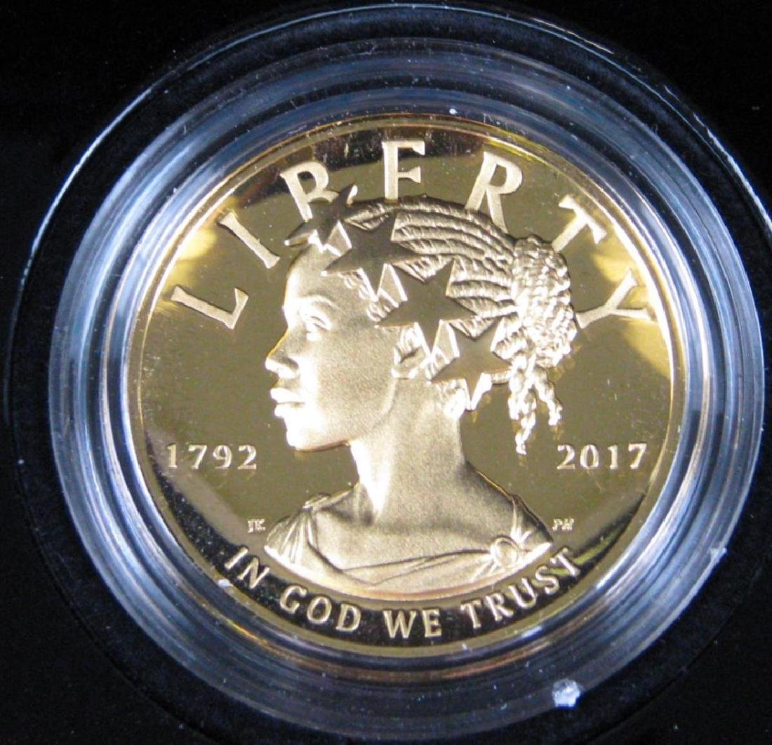 "2017-W $100 ""American Liberty"" Gold Proof Coin"