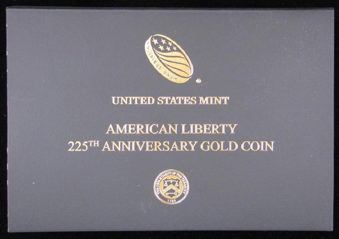 "2017-W $100 ""American Liberty"" Gold Proof Coin - 3"