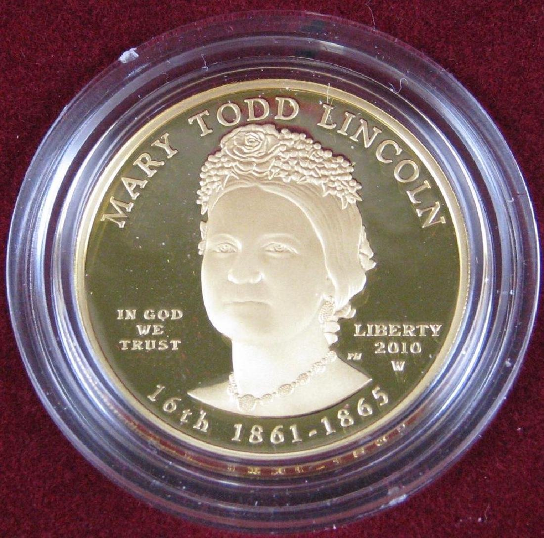 2010-W $10 Gold Proof Commemorative Coin