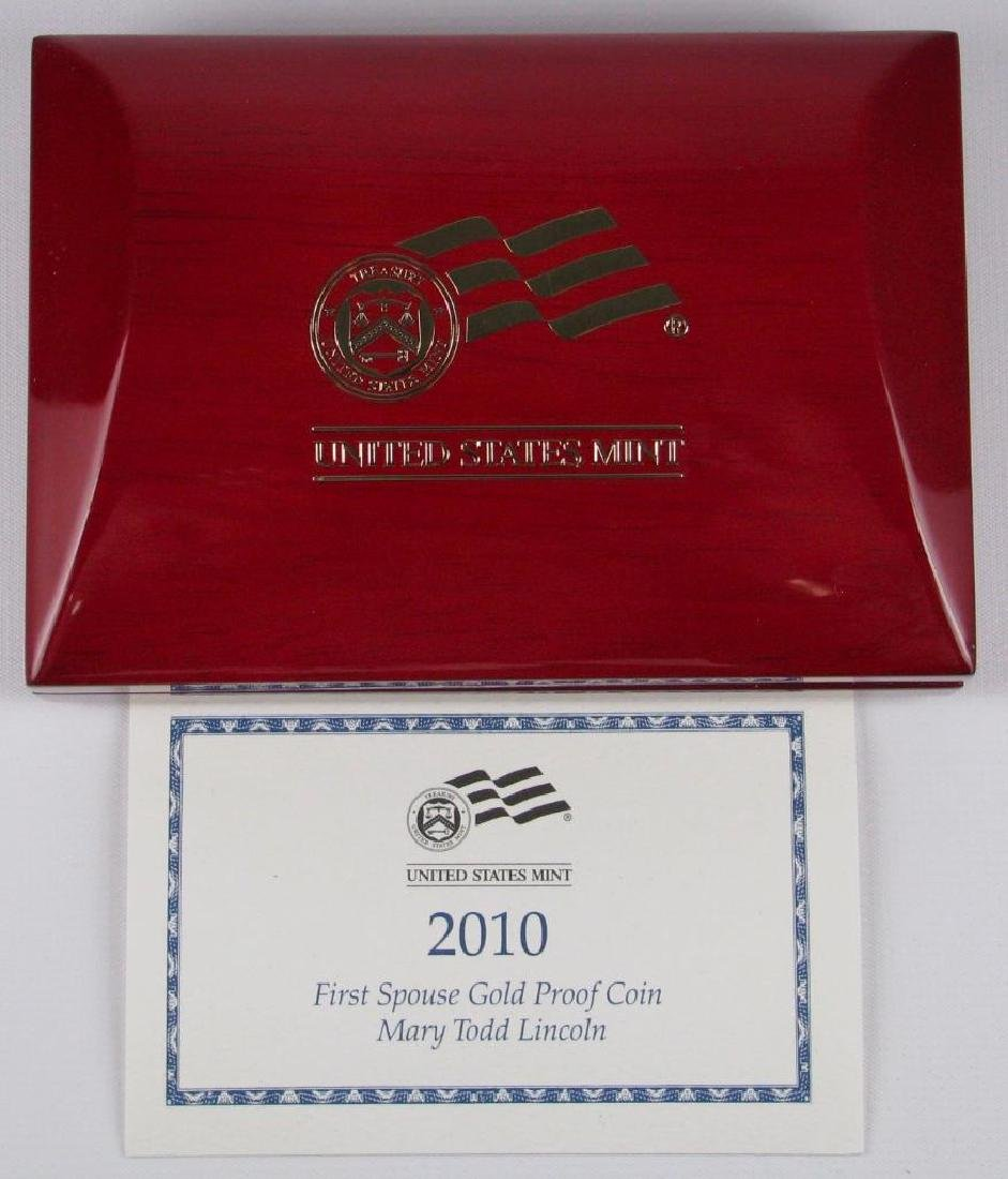 2010-W $10 Gold Proof Commemorative Coin - 4