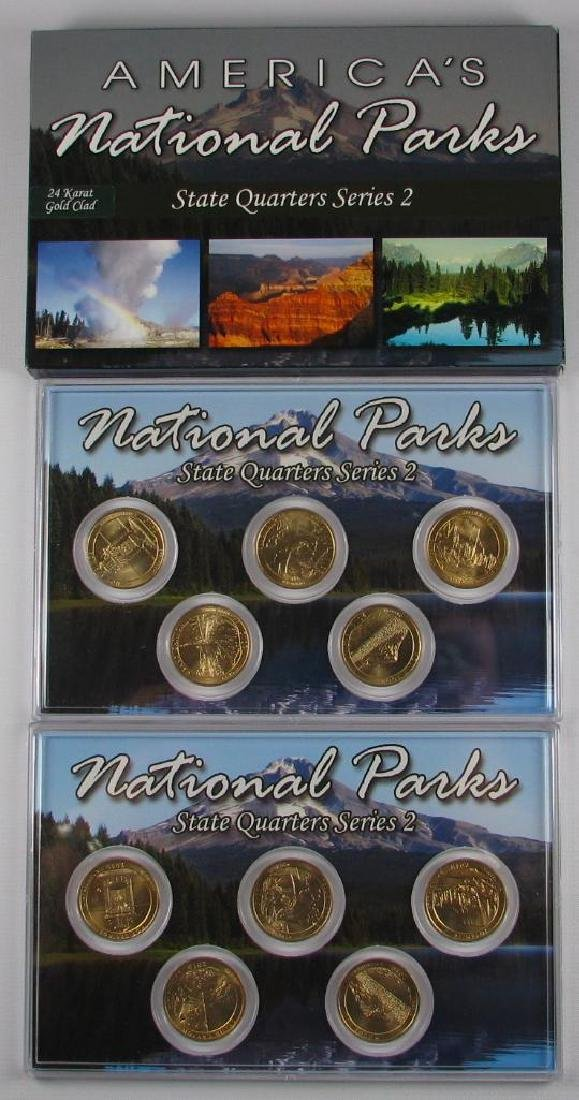 Lot of 3 Types : 2010 America's National Parks State - 2