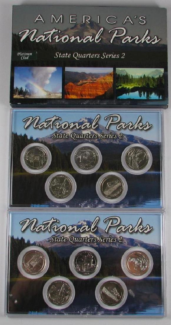 Lot of 3 Types : 2010 America's National Parks State - 3