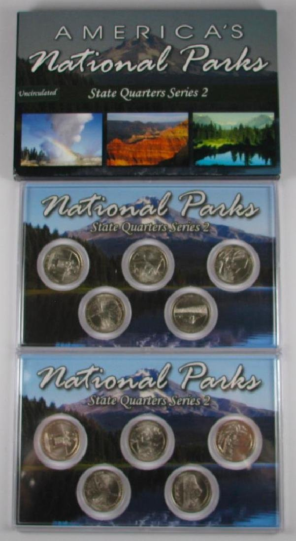 Lot of 3 Types : 2010 America's National Parks State - 4
